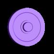 vault_door_spinner_cap.stl Download free STL file fallout vault door spinner - 625 ball bearing • 3D printable model, OneIdMONstr