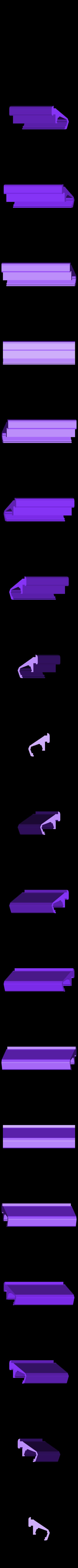 led_halter.stl Download free STL file anycubic kossel ikea led bar holder • Design to 3D print, OneIdMONstr