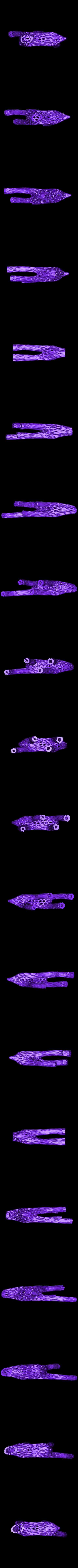 deer vornoi corp.stl Download free STL file Great Christmas deer + voronoi + Big sled • 3D print design, motek