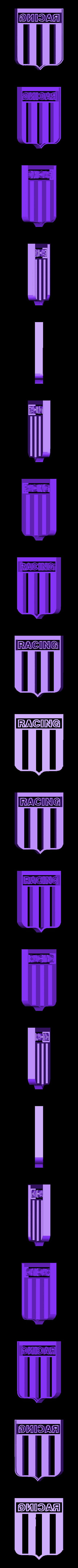 Racing-Relleno.stl Download STL file Cookies Cutter Racing, Cookies Cutter Racing • 3D printing template, diegox484