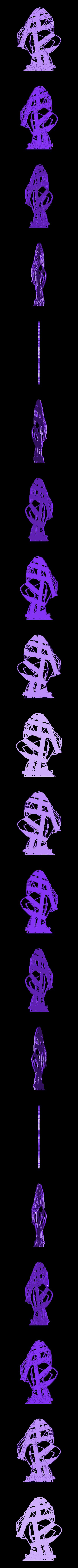 Mohana Adulta.stl Download STL file COOKIES CUTTER Moana Mohana Adulta, CORTANTE DE GALLETAS Moana Mohana Adulta • 3D printer object, diegox484