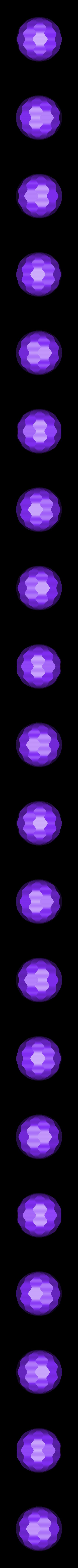 wave_sphere.stl Download STL file wave sphere • Template to 3D print, Ciokobango