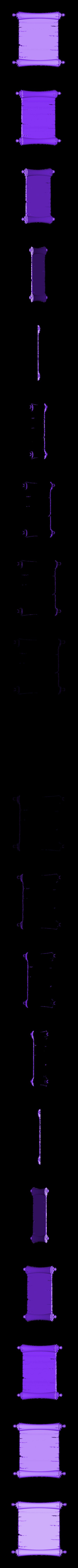 B103.stl Télécharger fichier STL gratuit Parchemin • Design à imprimer en 3D, stl3dmodel