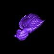 Right_Arm.stl Download OBJ file BATMAN Battle Pose • 3D print template, tolgaaxu