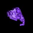 Full Body with Display.stl Download OBJ file BATMAN Battle Pose • 3D print template, tolgaaxu