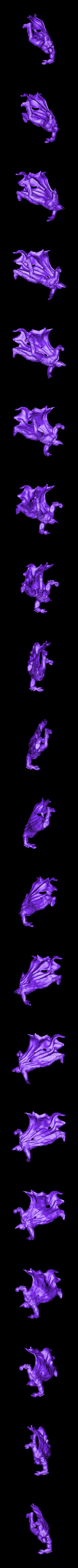Only Batman Full Body.stl Download OBJ file BATMAN Battle Pose • 3D print template, tolgaaxu
