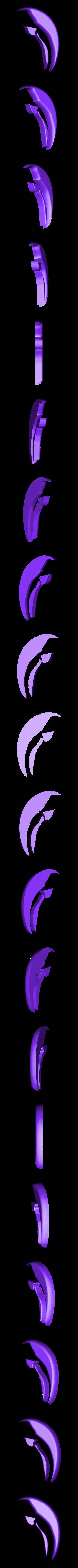 white.stl Download free STL file 2-Color Dolphin (Remix) Key Chain • 3D print template, lowboydrvr