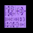 city_80x80_2007.stl Download free STL file Space Cities Generator • 3D print model, ferjerez3d