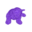fuzzybear_flat_bottom.stl Download free STL file Fuzzy bear with flat bottom • 3D printable object, robinfang