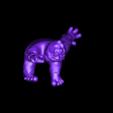 mumble_sitting.stl Télécharger fichier STL gratuit Marmonnez l'abominable monstre des neiges • Modèle à imprimer en 3D, ProtoParadigm