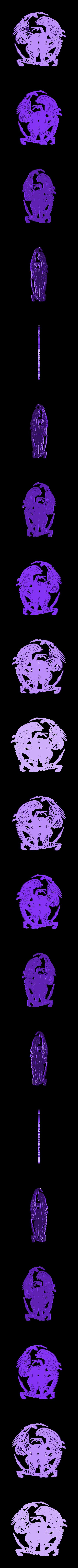 Magnificent_Robo1.stl Download free STL file Reloj Alien vs. Predator • 3D print design, 3dlito
