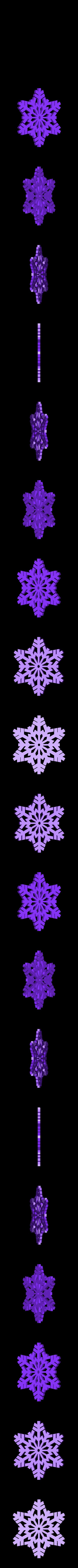 SnowFlake.STL Download free STL file Snowflake • 3D printable object, PortoCruz675