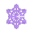 SnowFlake_slit.STL Download free STL file Snowflake • 3D printable object, PortoCruz675