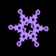 GothicSnowflake.STL Download free STL file Gothic Snowflakes • 3D printer template, PortoCruz675