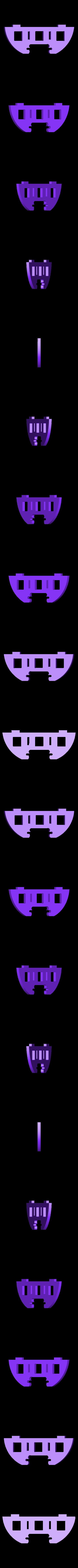 tube_half_moon_with_three_holes.stl Download free STL file OpenROV Underwater Robot • 3D printable design, PortoCruz675
