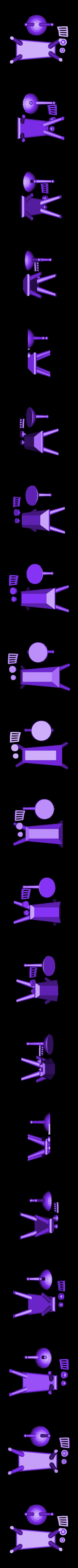 RetroTV_BaseBits.stl Télécharger fichier STL gratuit Rétro Télévision • Modèle à imprimer en 3D, gabutoillegna56