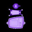 RetroTV_PrintPlate.stl Télécharger fichier STL gratuit Rétro Télévision • Modèle à imprimer en 3D, gabutoillegna56