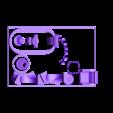 SciFi_Plate_2_Accent.stl Télécharger fichier STL gratuit Plaques d'impression SciFi Playset • Objet à imprimer en 3D, gabutoillegna56