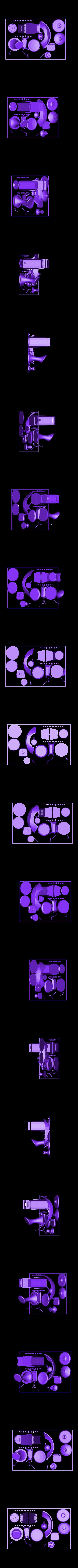SciFi_Plate_2_Black.stl Télécharger fichier STL gratuit Plaques d'impression SciFi Playset • Objet à imprimer en 3D, gabutoillegna56