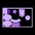 SciFi_Plate_3_Accent.stl Télécharger fichier STL gratuit Plaques d'impression SciFi Playset • Objet à imprimer en 3D, gabutoillegna56