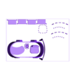 SciFi_Plate_1_White.stl Télécharger fichier STL gratuit Plaques d'impression SciFi Playset • Objet à imprimer en 3D, gabutoillegna56