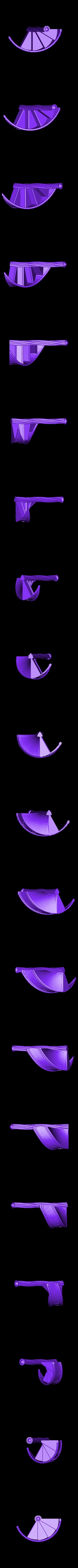CStairs2Half2.stl Télécharger fichier STL gratuit Escalier du château Deux • Design imprimable en 3D, gabutoillegna56