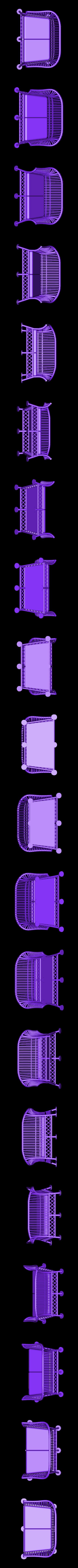 wicker_sofa.stl Télécharger fichier STL gratuit Ensemble de meubles en osier 1:24 • Design à imprimer en 3D, gabutoillegna56