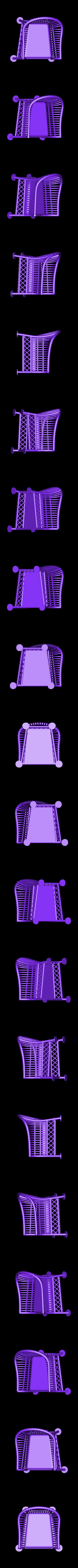 wicker_Chair.stl Télécharger fichier STL gratuit Ensemble de meubles en osier 1:24 • Design à imprimer en 3D, gabutoillegna56
