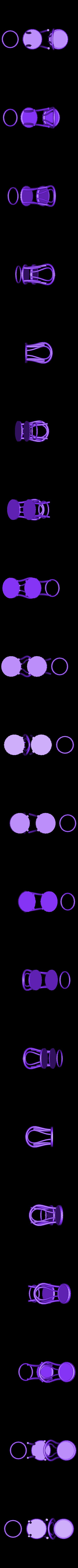 BW_PlatewoArms.stl Télécharger fichier STL gratuit 1:24 Chaise Thonet • Modèle pour impression 3D, gabutoillegna56