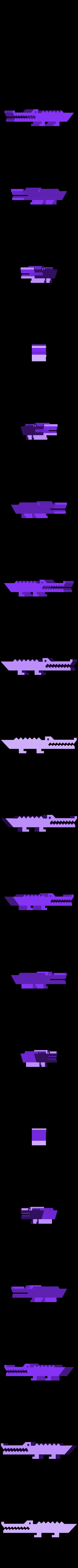 mralligator.stl Télécharger fichier STL gratuit M. Alligator • Plan imprimable en 3D, Louisdelgado678