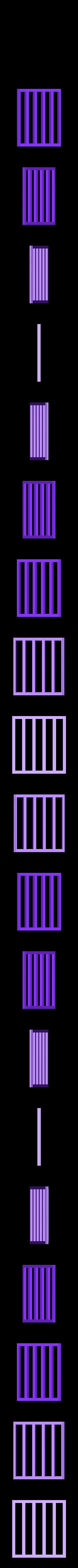 flat_gate.stl Télécharger fichier STL gratuit Cage avec porte de travail • Design pour imprimante 3D, Louisdelgado678