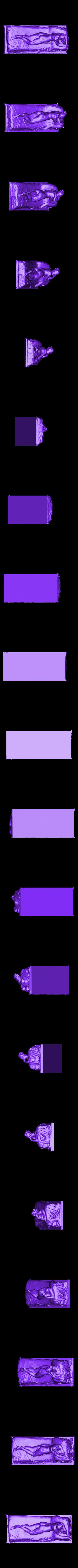 NaidFinal.stl Télécharger fichier STL gratuit Naïade couchée • Objet imprimable en 3D, metmuseum