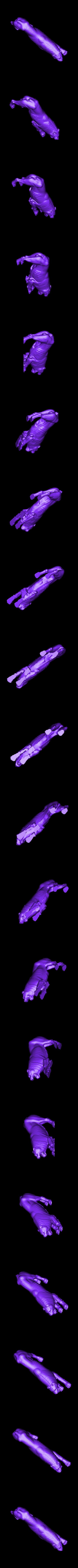 marblelion.stl Télécharger fichier STL gratuit Statue de lion en marbre • Objet pour imprimante 3D, metmuseum