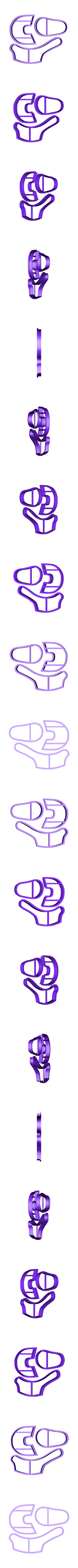 STL-ZapatoBB.stl Télécharger fichier STL Zapatito, Bebe, Fondant Cutter, Cutter of Edible Pasta, Cold Porcelain and Ceramic • Plan à imprimer en 3D, crcreaciones3d