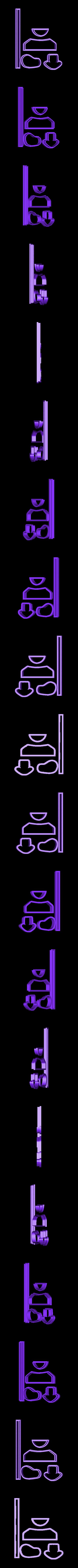 STL-ZapatillaConverse.stl Télécharger fichier STL Zapatito, Zapatilla, Bebe, Fondant Cutter, pâtes alimentaires, porcelaine froide et céramique • Objet à imprimer en 3D, crcreaciones3d