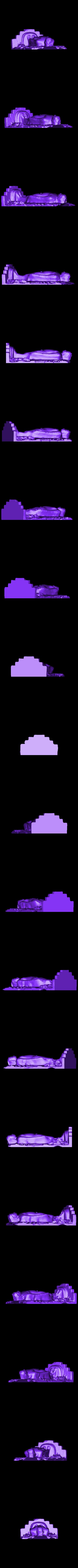 Kayotsarga_ready.stl Télécharger fichier STL gratuit Jaina Tirthankara Chandraprabha debout en méditation (Kayotsarga), 12e siècle • Objet pour impression 3D, ArtInstituteChicago