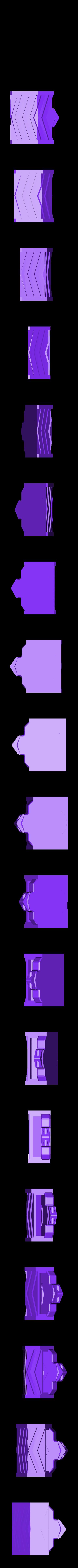 belt_keychain_underground_down.stl Download free STL file Factorio Belt Keychain • 3D print template, Petethelich