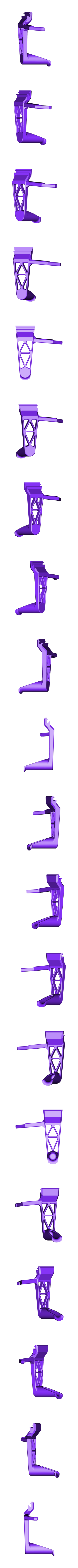Filament_Holder_3.3.STL Download free STL file TEVO Tornado/20x20 Extrusion Filament Holder 3 • 3D printable object, 3D_Cre8or
