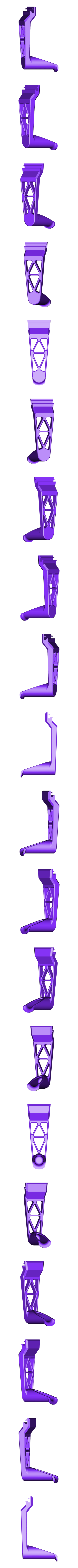 Filament_Holder_3.1_Without_Filament_Guide.STL Download free STL file TEVO Tornado/20x20 Extrusion Filament Holder 3 • 3D printable object, 3D_Cre8or