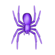 SpiderFIXED.stl Download free STL file House Spider Fixed • 3D printer template, Gophy