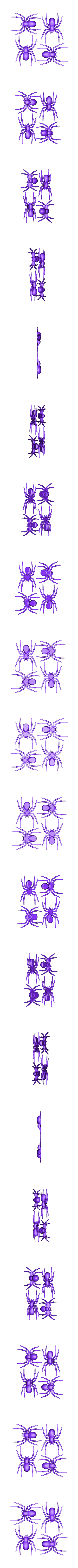 4Spiders.stl Download free STL file House Spider Fixed • 3D printer template, Gophy