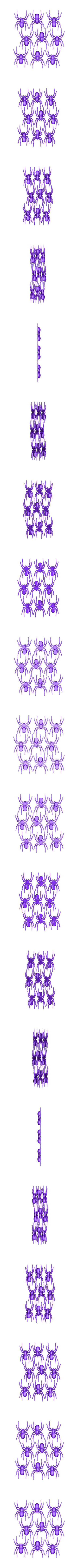 9Spiders.stl Download free STL file House Spider Fixed • 3D printer template, Gophy