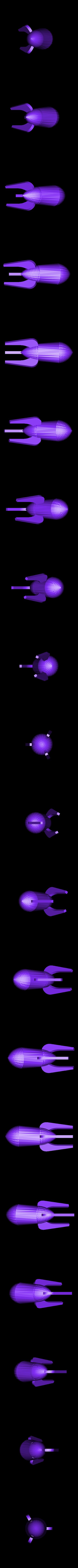 retrorocket.stl Download free STL file Retro Rocket. • 3D printable object, GeneralElectric