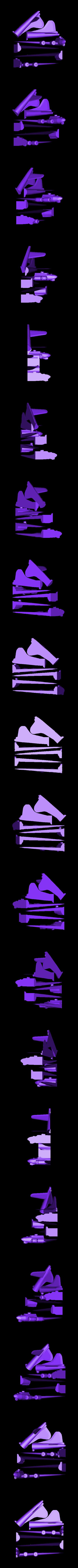 B17_Plate.stl Télécharger fichier STL gratuit B-17 Forteresse volante • Modèle imprimable en 3D, GeneralElectric