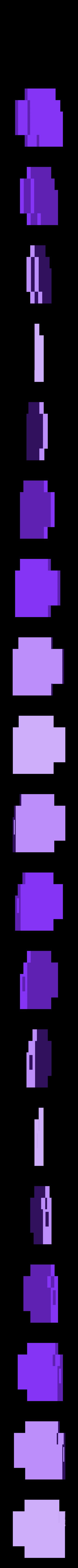 HeartLeft.stl Télécharger fichier STL gratuit Amoureux 8 bits • Modèle pour impression 3D, DelhiCucumber