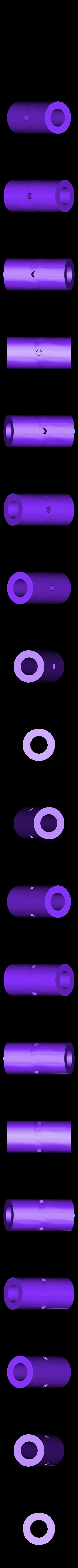 SpoolCore.stl Télécharger fichier STL gratuit Ame de bobine pour support de tuyau en PVC 3/4 • Modèle pour imprimante 3D, DelhiCucumber