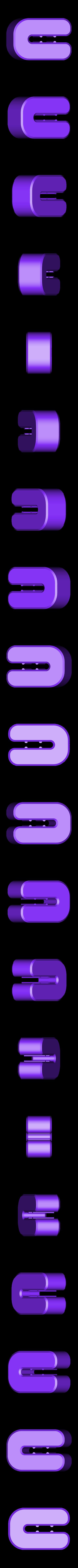 ulti-toe.stl Télécharger fichier STL gratuit Ulti-pieds • Modèle pour impression 3D, DelhiCucumber