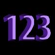 Street_Sign_123.STL Download free STL file Sesame Street Sign • 3D printing model, enzordplst