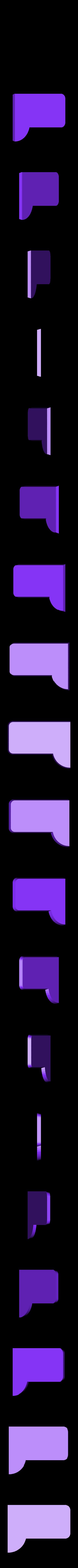 Street_Sign_Back_Plate_Right.STL Download free STL file Sesame Street Sign • 3D printing model, enzordplst