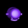 Kuchipatchi_2b1_solid_flat_feet.stl Télécharger fichier STL gratuit Kuchipatchi Tamagotchi • Objet imprimable en 3D, crashdebug